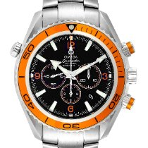 Omega Seamaster Planet Ocean Chronograph Steel 45.5mm Black Arabic numerals United States of America, Georgia