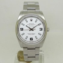 Rolex Oyster Perpetual 34 Steel 34mm White