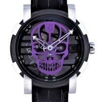 Romain Jerome Moon-DNA Stal 48mm Przezroczysty