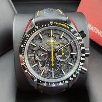 Omega Speedmaster Professional Moonwatch Κεραμικό 44.25mm Μαύρο Xωρίς ψηφία