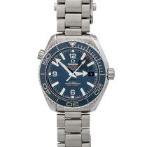 Omega Seamaster Planet Ocean Steel 39.5mm Blue Arabic numerals