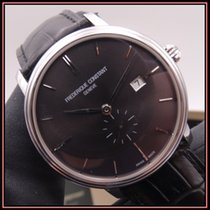 Frederique Constant Slimline Automatic Steel 42mm Black No numerals