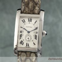 Cartier Tank Américaine Or blanc 30.5mm Champagne