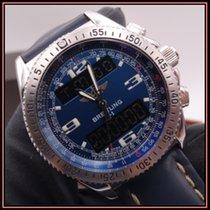 Breitling B-1 Acier 42mm Bleu Arabes