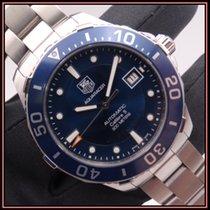 TAG Heuer Aquaracer 300M nuevo 2016 Automático Reloj con estuche y documentos originales WAN2111.BA0822