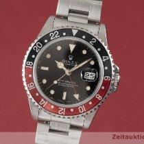Rolex GMT-Master Ατσάλι 40mm Μαύρο