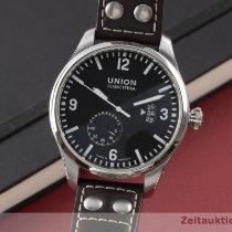 Union Glashütte Steel 44mm Automatic D002.624A pre-owned