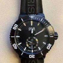 Oris Aquis Titan Titanium 46mm Black No numerals