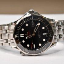 Omega Seamaster Diver 300 M Acier 41mm Noir Sans chiffres