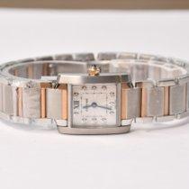 Cartier Gold/Steel 20mm Quartz WE110004 new