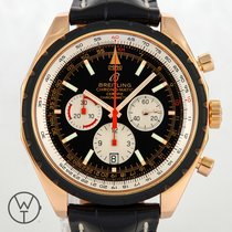Breitling Chrono-Matic 49 Or rouge 49mm Noir Arabes