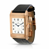 Jaeger-LeCoultre Reverso Classic Medium Duetto Rose gold 24.5mm Silver Arabic numerals United States of America, New York, New York