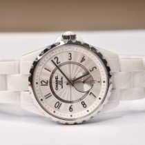 Chanel Ceramic 36.5mm Automatic H3837 new
