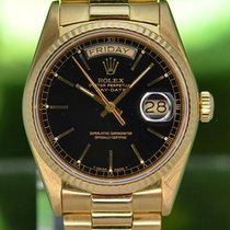 Rolex Day-Date 36 Κίτρινο χρυσό 36mm Μαύρο Xωρίς ψηφία Ελλάδα, Athens