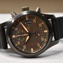 IWC Pilot Chronograph Top Gun Miramar IW388002 Zeer goed Keramiek 46mm Automatisch