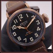 Zenith Bronze Remontage automatique Noir Arabes 45mm occasion Pilot Type 20 Extra Special