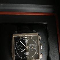 TAG Heuer Monaco Calibre 12 nouveau 2013 Remontage automatique Chronographe Montre avec coffret d'origine et papiers d'origine CAW2110.FC6177