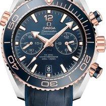 Omega 215.23.46.51.03.001 Or/Acier Seamaster Planet Ocean Chronograph 45.5mm occasion