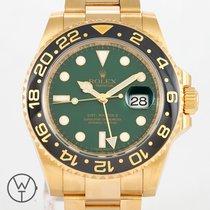 Rolex 116718LN Gelbgold 2007 GMT-Master II 40mm gebraucht Deutschland, München