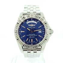 Breitling Galactic 44 44mm Blue United States of America, New York