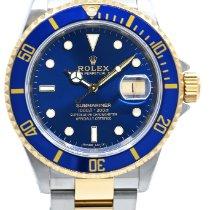 Rolex 16613 Or/Acier 1993 Submariner Date 40mm occasion France, Lyon