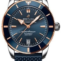 Breitling Superocean Heritage 42 Gold/Steel 42mm Blue