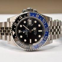 Rolex GMT-Master II Acier 40mm Noir Sans chiffres Belgique, Sint-Agatha-Berchem
