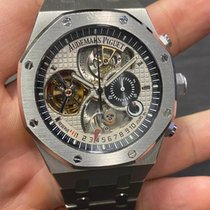 Audemars Piguet Royal Oak Tourbillon pre-owned 44mm Platinum