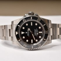 Rolex 114060 Steel 2020 Submariner (No Date) 40mm pre-owned