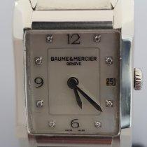 Baume & Mercier Hampton MOA10050 Muy bueno Acero Cuarzo