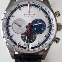 Zenith El Primero 36'000 VpH Steel 42mm Silver No numerals United States of America, New York, Brooklyn