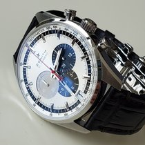 Zenith El Primero 36'000 VpH Steel 42mm Silver No numerals United States of America, New York, Brooklyn