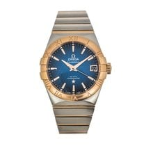 Omega Constellation Men Acero y oro 38mm