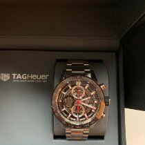 TAG Heuer Carrera Calibre HEUER 01 Steel 43mm Brown No numerals