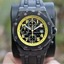 Audemars Piguet 26176FO.OO.D101CR.02 Koolstof Bumblebee 42mm nieuw