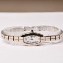 Cartier Lanières White gold 16mm Silver Roman numerals