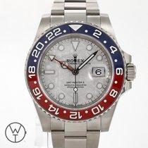 Rolex GMT-Master II White gold 40mm Grey No numerals