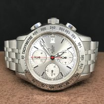 Tudor Chronautic Steel Silver No numerals