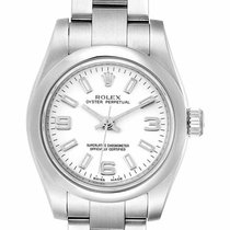 Rolex Oyster Perpetual 26 Steel 26mm White