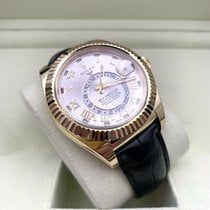 Rolex Sky-Dweller Yellow gold 42mm Silver Roman numerals United States of America, Florida, Coconut Creek