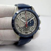 Zenith Titanium Automatic Transparent No numerals 42mm new El Primero Chronomaster