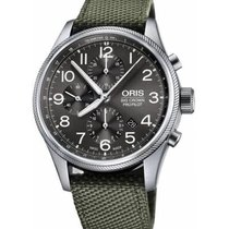 Oris Big Crown ProPilot Chronograph Steel Grey Arabic numerals