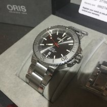 Oris Aquis Date Steel 43.5mm Grey No numerals United Kingdom, Winsford