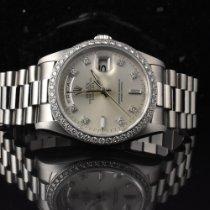 Rolex Day-Date Platin 36mm Silber Keine Ziffern Deutschland, Hamburg