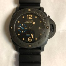 Panerai PAM 00616 Carbon 2017 Luminor Submersible 1950 3 Days Automatic 47mm pre-owned United States of America, California, Diamond Bar