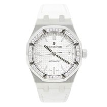 Audemars Piguet Royal Oak Lady Steel 37mm Silver No numerals United States of America, California, Los Angeles