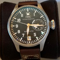 IWC Big Pilot Steel 46.2mm Black Arabic numerals United States of America, New York, New York