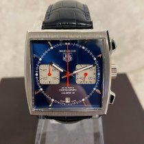 TAG Heuer Monaco Calibre 12 Steel 39mm Blue No numerals United Kingdom, Kings Langley