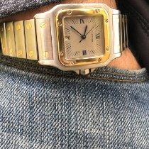 Cartier Santos Galbée Gold/Steel 29mm Grey Roman numerals United States of America, Florida, Pembroke Pines
