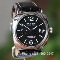 Panerai Radiomir Black Seal Black Arabic numerals United States of America, Missouri, Chesterfield